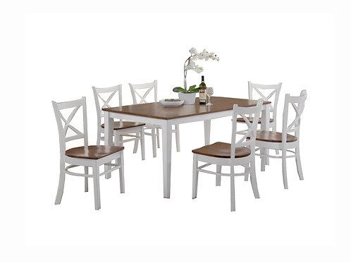 Petrie 7pc Rectangle Dining Suite