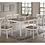 Thumbnail: Petrie White Rectangle Dining Table
