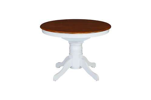 Petrie White Ext 1070 Dining Table