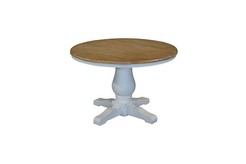 California 1200 White Dining Table