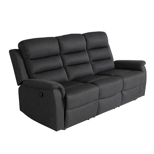 Hudson 3 Seater Manual Lounge