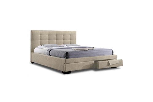 Bronte Linen Queen Bed