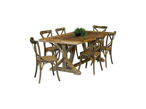 Foundry 7pc Rustic Dining Suite