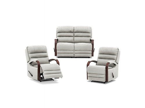 Albany 2RR+R+R Recliner Lounge Suite