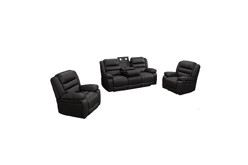 Garnet 3 Piece Electric Lounge Suite
