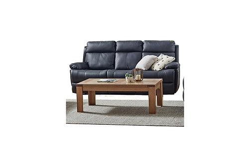 Platinum Leather 3 Seater Electric Recliner Lounge