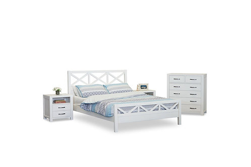 French Coast 4pc Queen Suite