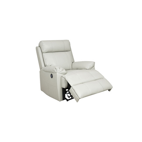 Rhinestone Leather Manual Recliner