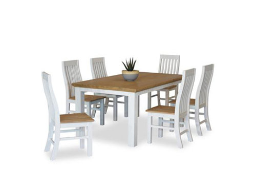 Hamptons 7pc Dining Suite