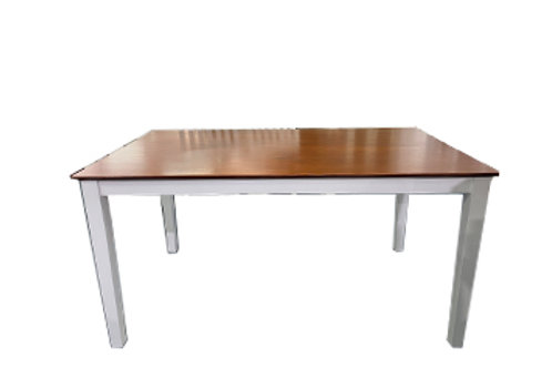 Petrie White Rectangle Dining Table