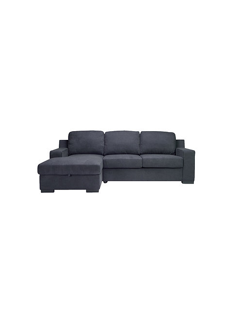 Ruby II LHF Chaise Sofa Bed Lounge