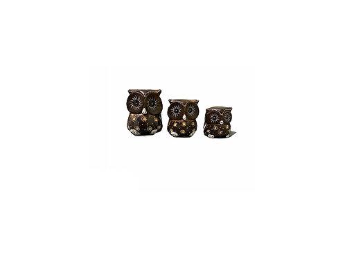 Set 3 Owls