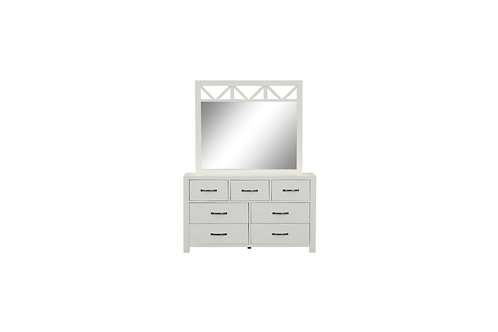 French Coast Dresser with Mirror