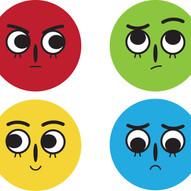 emotional sticker sheet