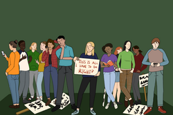 student protests