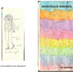 """""""sketchbook dwellers"""" zine"""