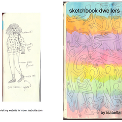 """sketchbook dwellers"" zine"