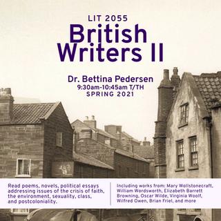 LIT 2055 British Writers II
