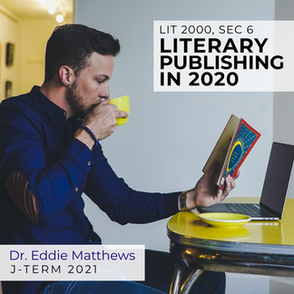 LIT 2000, Sec 6, Literary Publishing in