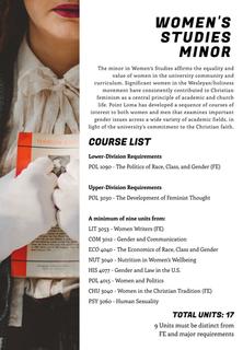 Women's Studies Minor