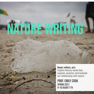 LIT 2000: Lit & Culture: Nature Writing