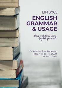 LIN 3065 English Grammar & Usage