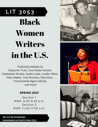 LIT 3053 Black Women Writers in the US