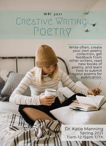 WRI 3021 Creative Writing: Poetry