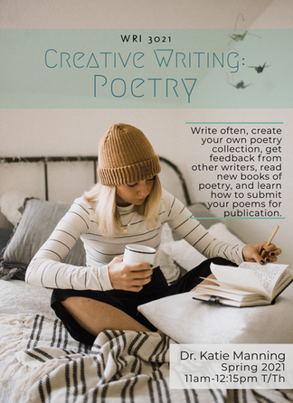 WRI 3021 Creative Writing: Poetry