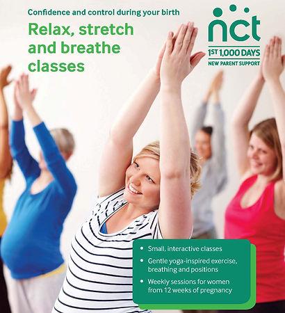 pregnancy yoga royston nct class north herts