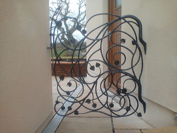 organic style iorn gate