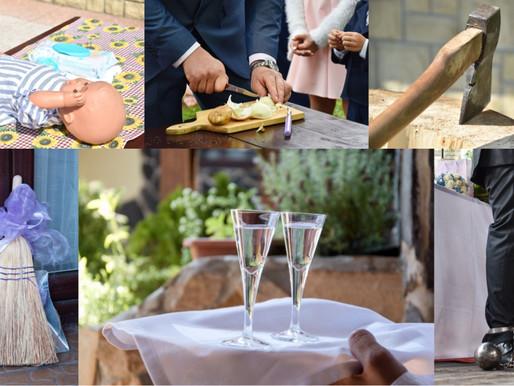 Svatební hry pro novomanžele