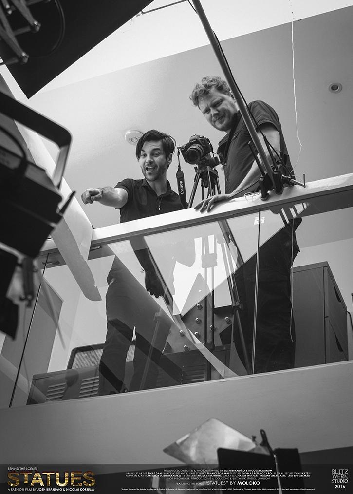JOSH BRANDAO, NICOLAI KORNUM. Photography by BlitzWerk Studio with credits