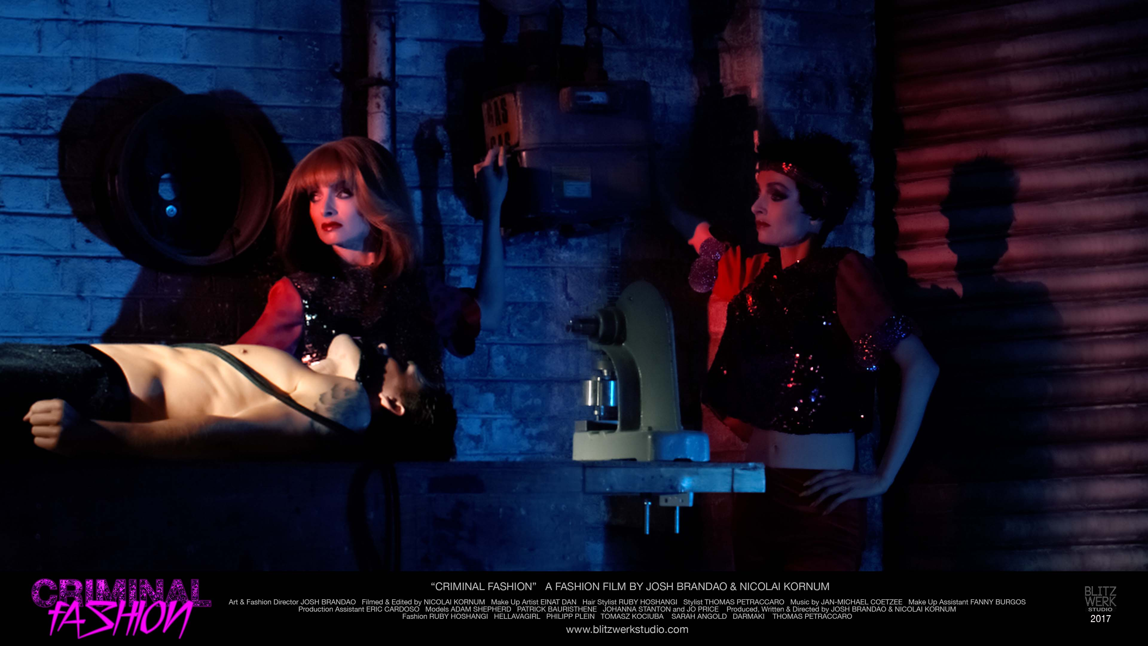 CRIMINAL FASHION PRODUCTION STILL (6) Johanna Stanton by Blitzwerk studio