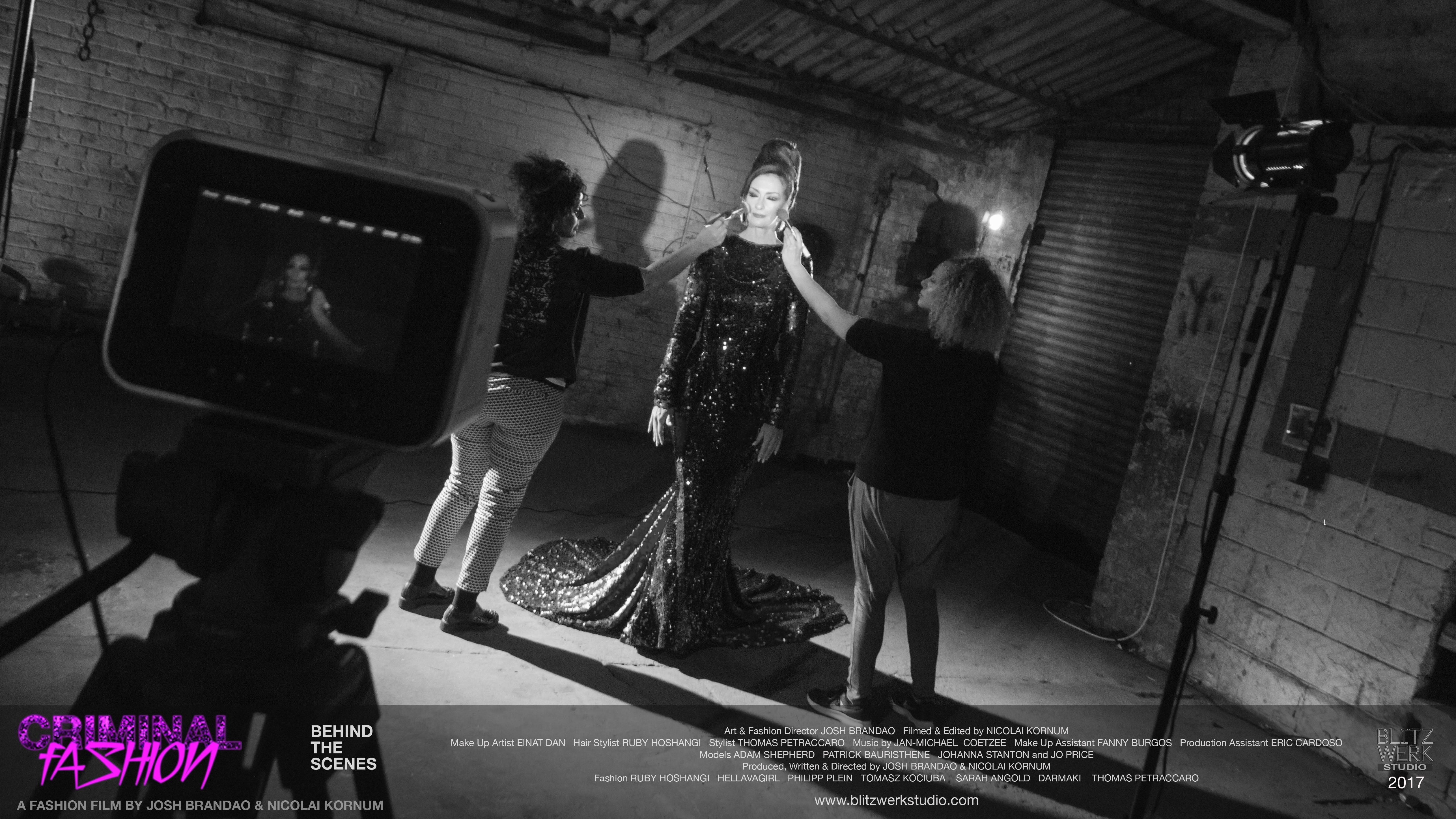 CRIMINAL FASHION BTS 7, Einat Dan, Jo Price, Fanny Burgos