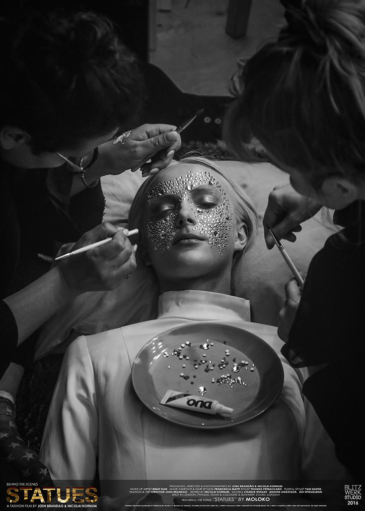 EINAT DAN, MAXINE ANASTASIA, FRANCESCA MAFFI. Photo by BLitzWerk Studio with credits