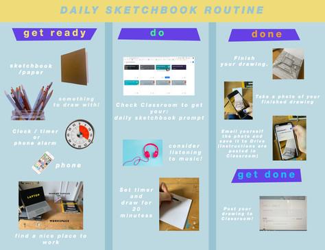 High School Art Remote Instruction