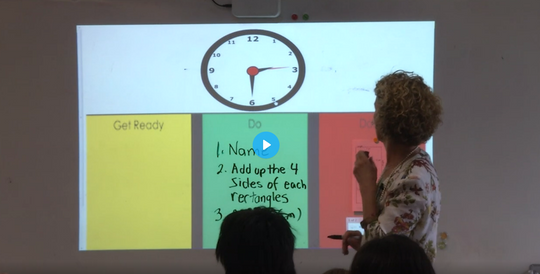 Click Here to watch a Video Lesson on Get Ready * Do * Done