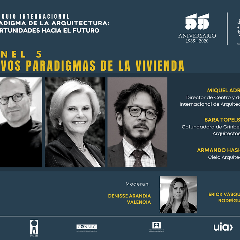 Panel 5 NUEVOS PARADIGMAS DE LA VIVIENDA