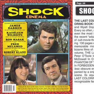 SHOCK CINEMA #54 --- 2018.
