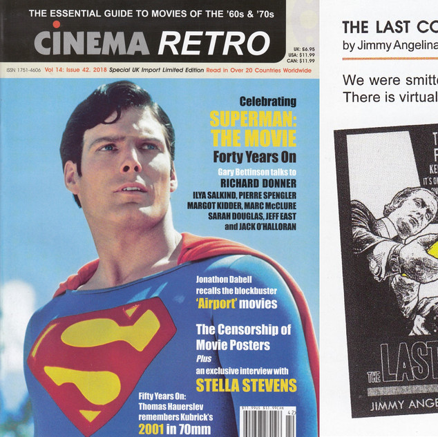 CINEMA RETRO --- Vol. 14: Issue 42, 2018.
