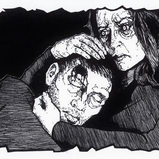 LEO Halloween drawing 4