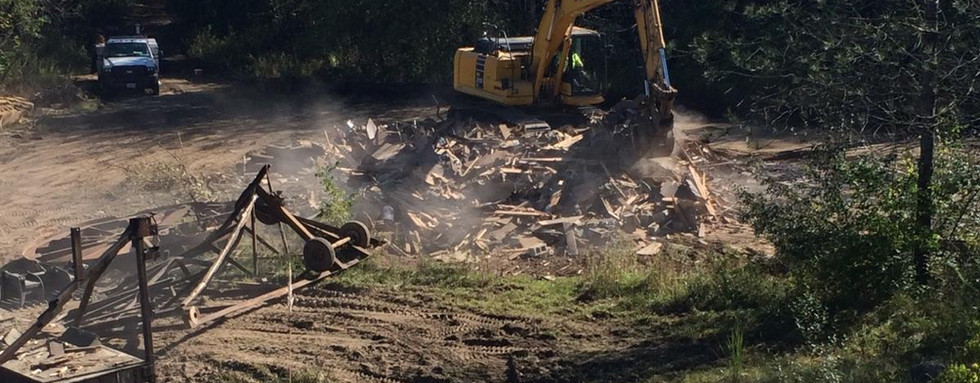 Amphitheatre Demolition