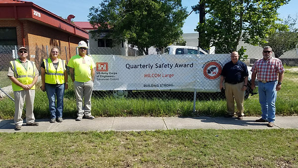2018 Quarterly Safety Award