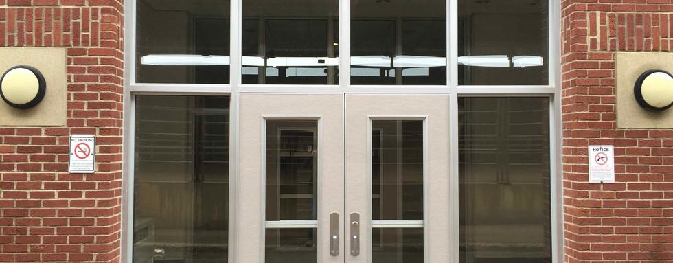 Entrance Door Security Enhancement