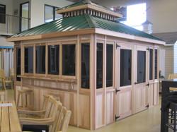 - Pavillon - 10X12 - Vert Foret - Gazebo