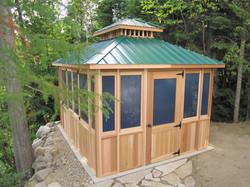 - Pavillon - 10X14 - Vert Foret - Gazebo
