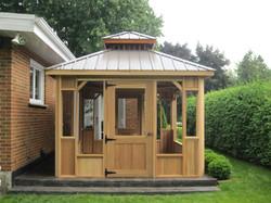 - Pavillon - 10X16 - Gris Pierre - Gazeb