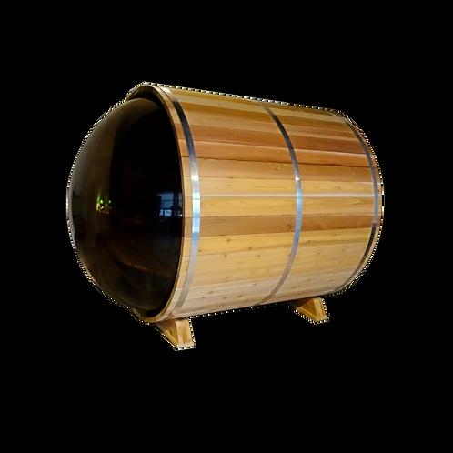 Sauna Boréal Panoramique - 6 pieds