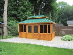 - Pavillon - 10X16 - Vert Moyen - Gazebo